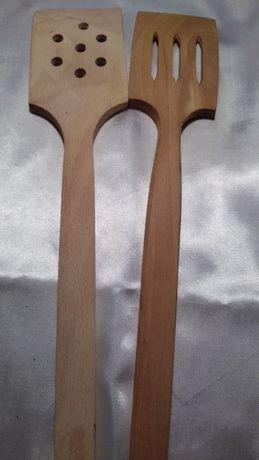 Набор лопаток деревянных для кухни.