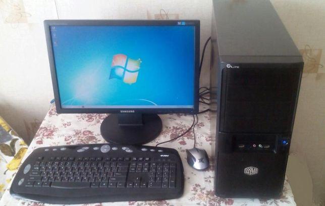 Компьютер в сборе (можно раздельно монитор или системник)