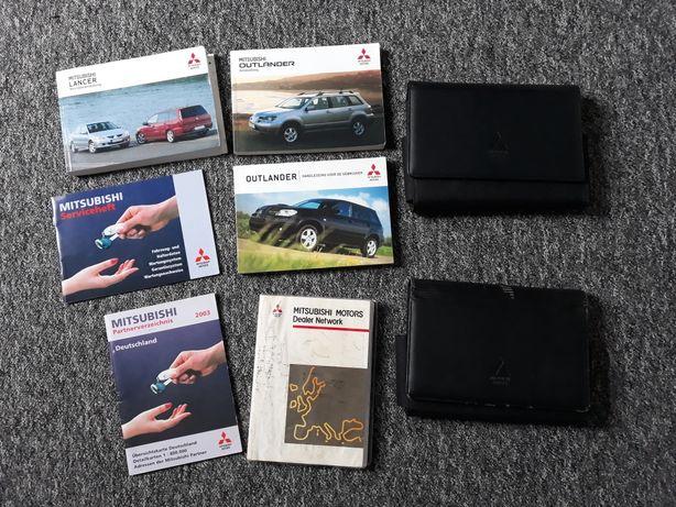 Instrukcja obsługi książka ser DE NL Mitsubishi Outlander I Lancer VII