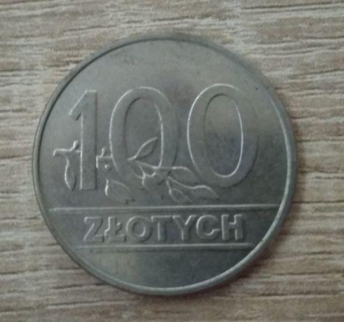 Moneta 100zł sprzed denominacji