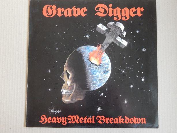 Grave Digger – Heavy Metal Breakdown (Noise – N 007, Germany) NM-/NM