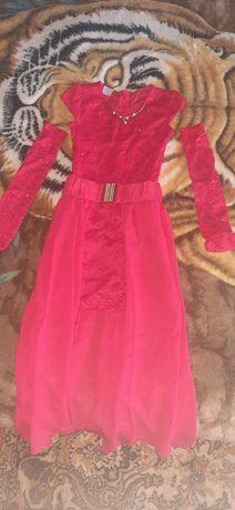 Продам шикарное выпускное платье для детского сада. Состояние на 5+ ,т