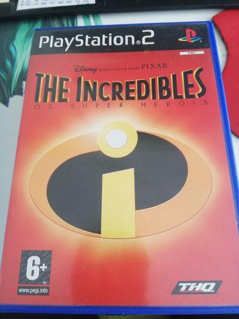 Jogo PS2  os incriveis