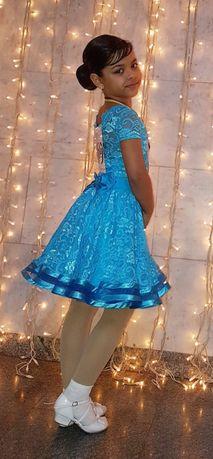 Платье бальное (рейтинговое, бейсик, школа) 6-8лет