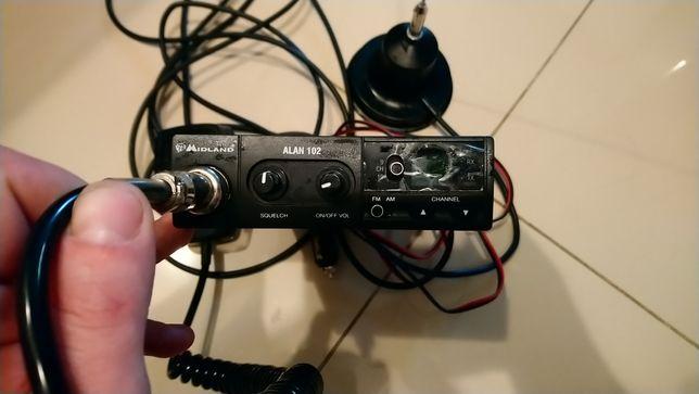 Sprzedam CB radio Midland - Alan 102