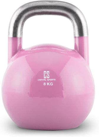 Capital Sport Compket 8 kettlebel hantel kulisty stal 8kg
