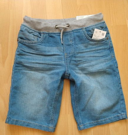 Spodenki jeansowe 140 c&a