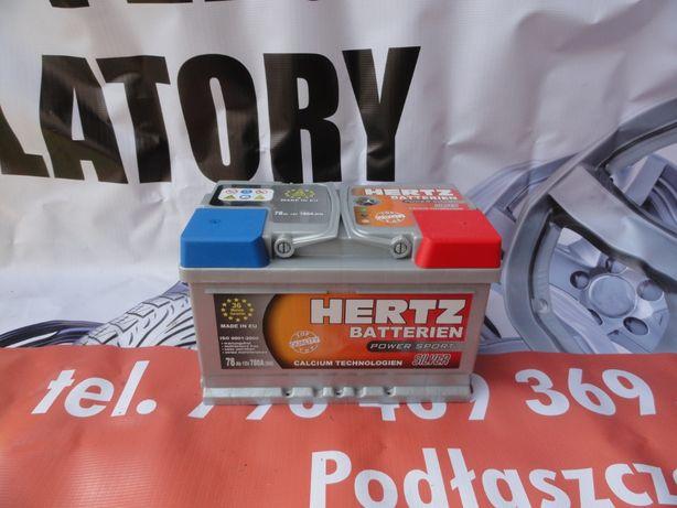 Akumulator Hertz silver 78AH gwarancja 36 miesięcy