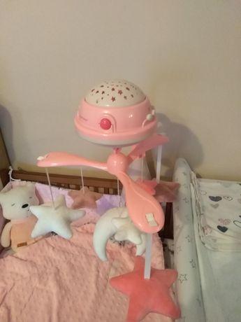 Karuzela canpol babies różowa