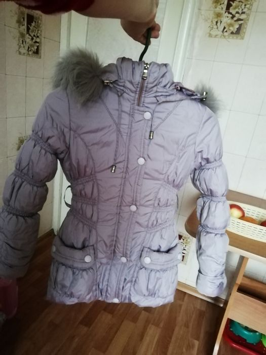 Зимняя куртка на девочку Кременчуг - изображение 1