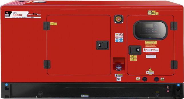 Дизельний генератор 4R- 38кВa 3фаз KRAFTWELE- Доставка