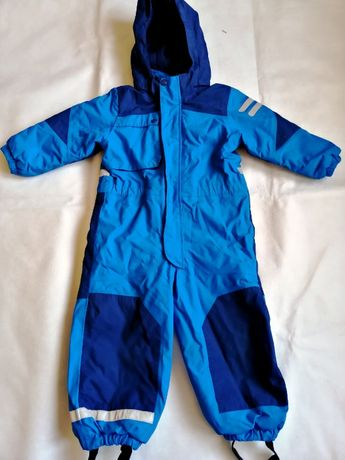 H&M - ciepły i solidny kombinezon zimowy, outdoorowy 98