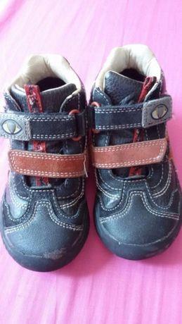 Полуботинки, ботинки кожаные Clarks 7,5 F, р. 25, 14,5 - 15 см