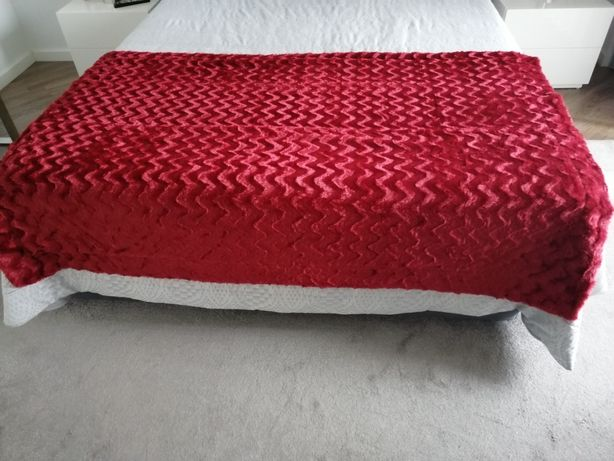 Manta para fundo da cama