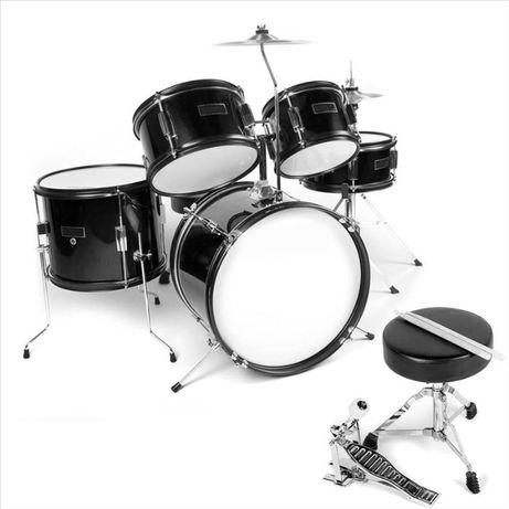 Perkusja dla dziecka Ever Play Black Tiger Junior JBJ1046 BK drums