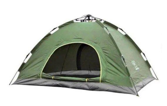 Палатка автомат 6-ти местная с автоматическим каркасом с чехлом 2х2.5
