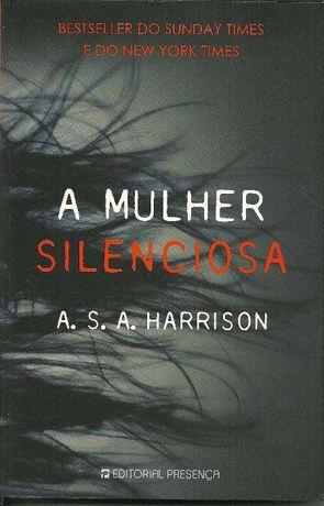 Livro – A mulher silenciosa – A. S. A. Harrison