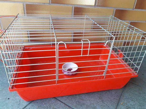 Nowa klatka dla gryzonia chomika świnki 50 cm