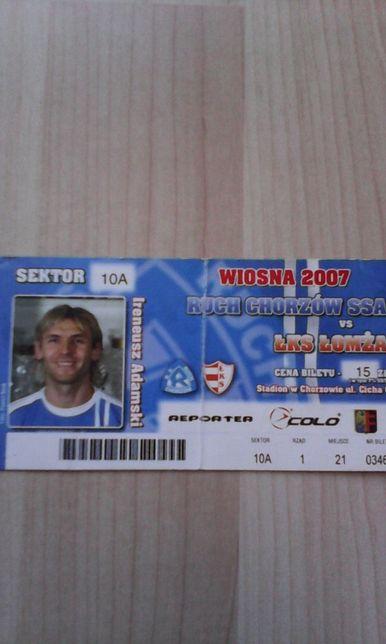 Ruch Chorzów -Łks Łomża 04.05.2007
