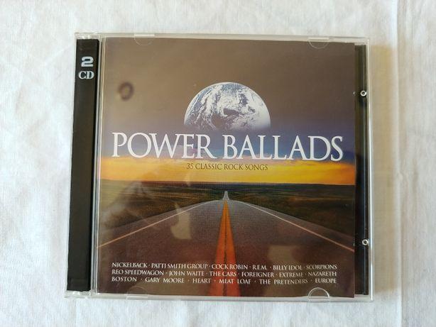 Power Ballads - 35 Classic Rock Songs - CD duplo
