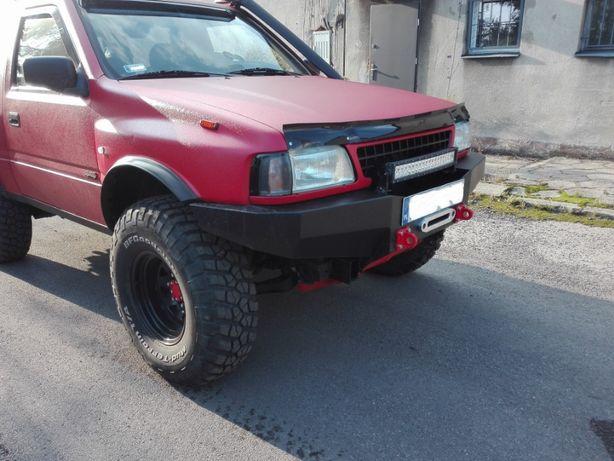 Zderzak stalowy Opel Frontera A i B - przedni