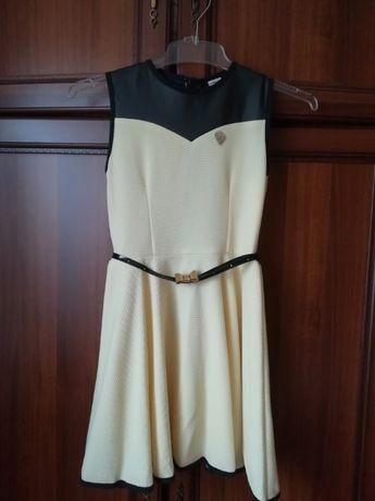 Żółta sukienka dziecięca