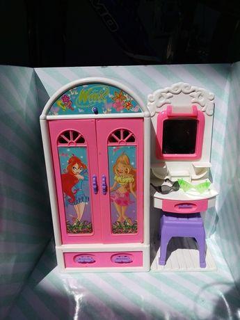 Шкавчик winx для ляльок