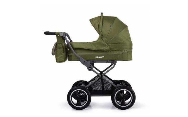 коляска универсальная - Резиновые колеса Tilly / прогулочная / Family