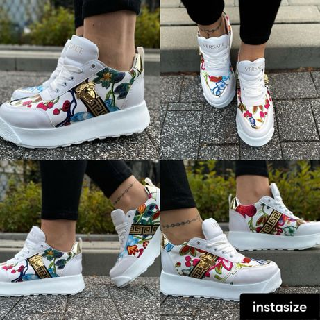 Versace elegancki damskie buty sportowe 36-40 NEW MEGA HIT !!!