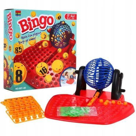 Gra Bingo Towarzyska I Rodzinna Lotto Loteryjka 007-85