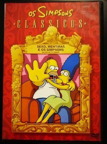 """1DVD•Simpsons """"Clássicos"""" Sexo ,Mentiras e Simpsons*"""