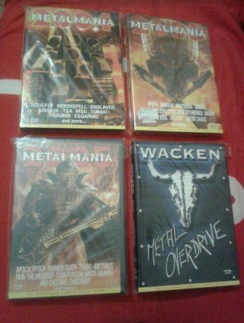 DVD Wacken Metalmania black trash death metal rock фест