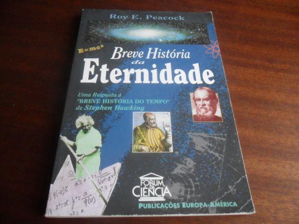 """""""Breve História da Eternidade"""" de Roy E. Peacock"""