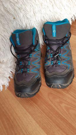 Ботинки для мальчика SALOMON стелька 23.3 см. Размер 36