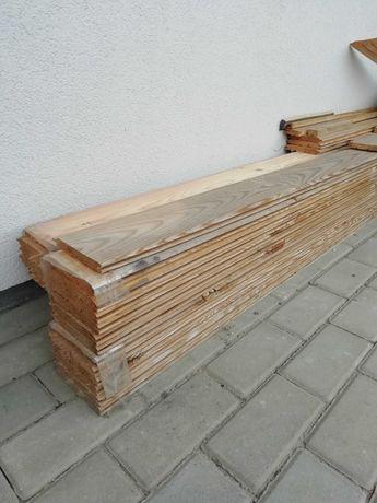 Deska elewacyjna sosnowa drewno 300x13m  Całość 9,4m