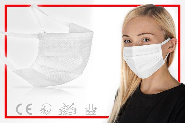 Maska Maseczki ochronne antywirusowe medyczna wielokrotnego