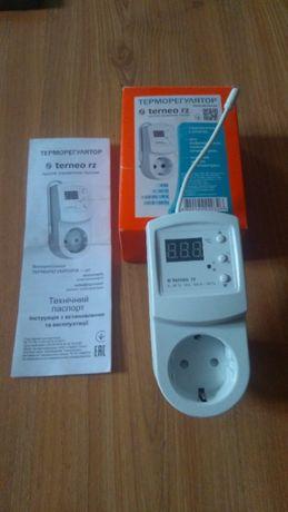 Терморегулятор Terneo RZ для керамических панелей и обогревателей