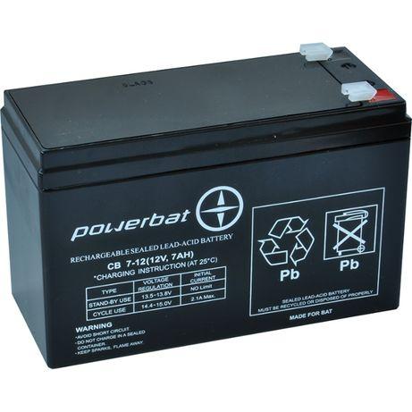 Akumulator żelowy AGM 12V 7,2Ah 7Ah Wagi Zabaki Alarmy Nowy Gwarancja