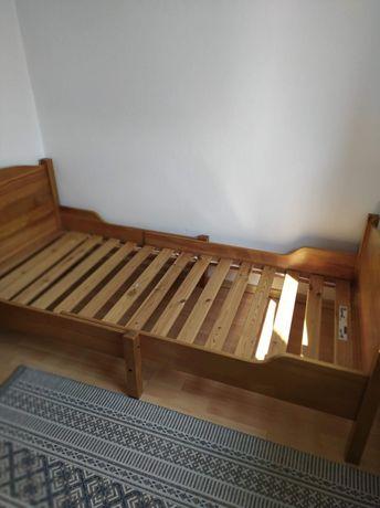 Łóżko drewniane 90x200 REGULOWANE