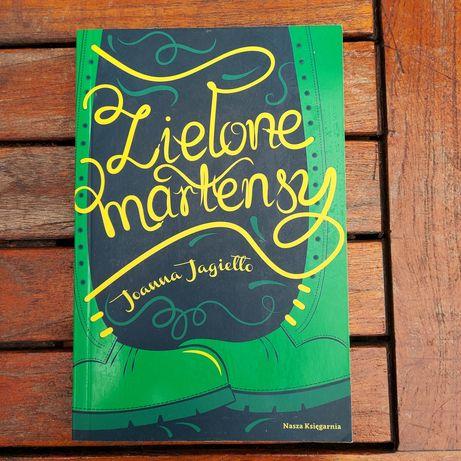 """Książka dla młodzieży """"Zielone martensy"""""""