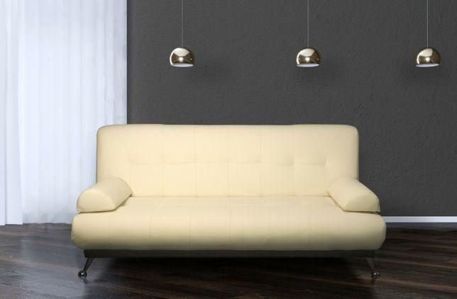 Кожаный Диван Раскладной, Мягкая мебель.