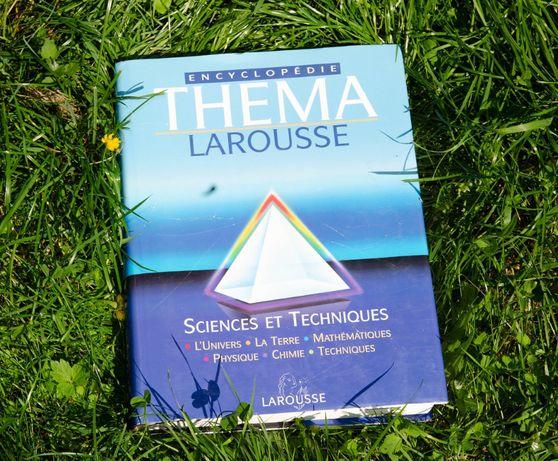 Encyklopedia naukowa Larousse w języku francuskim!