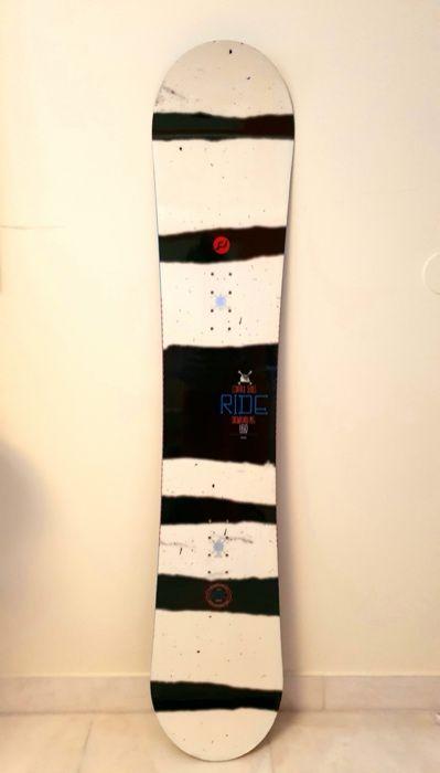 Prancha RIDE Snowboard + Fixações Moscavide E Portela - imagem 1