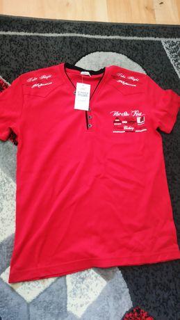 Czerwona koszulka M