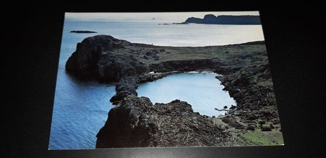 stara pocztówka LINDOS zatoka