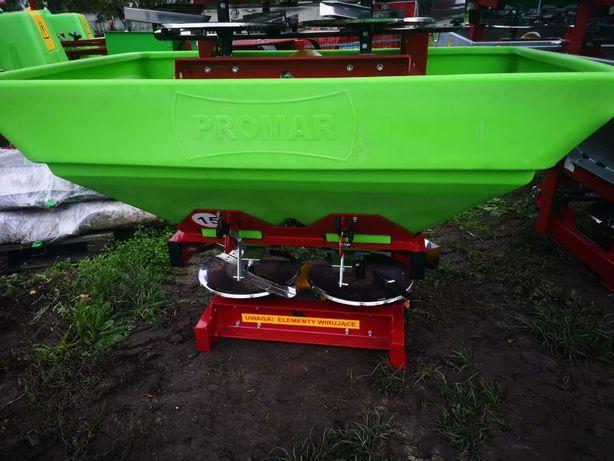Siewka do nawozów Rozsiewacz nawozu Promar 600L zbiornik plastikowy