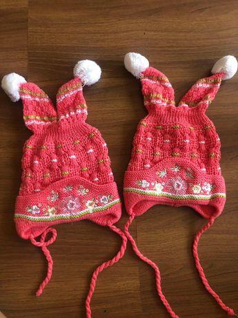 Весенние- осенние шапочки для девочек