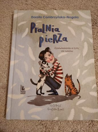"Książka Dorota Combrzyńska-Nogala pt.""Pralnia pierza"" 10zl"