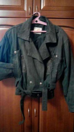 Куртка нубук.