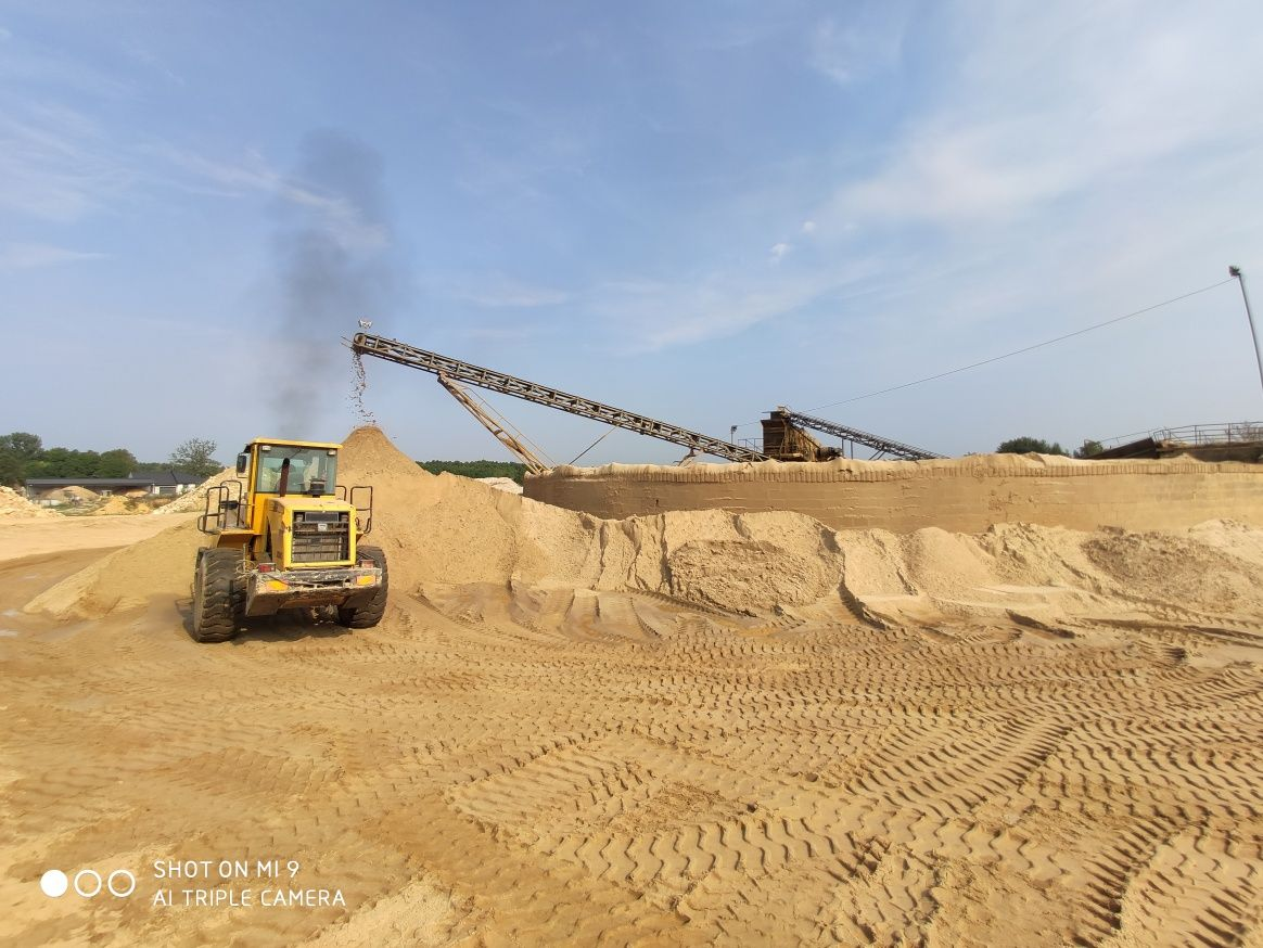 Piach piasek zasypka piasek płukany 0-2mm 0-1mm do murowania